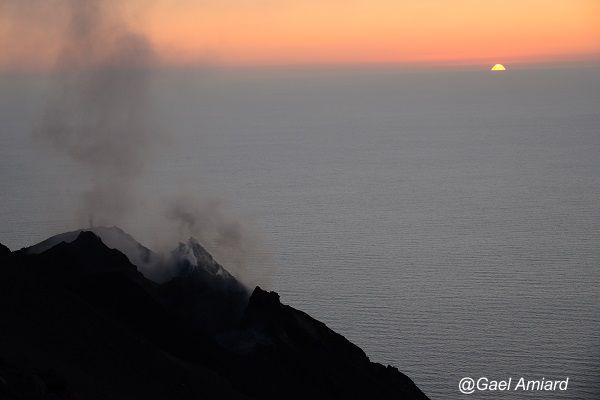 Le cratère du Stromboli